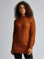 Dorothy Perkins Tall hnědý svetr