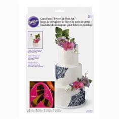 Wilton Floral sada vykrajovačů na květiny 28ks