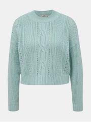 Miss Selfridge mentolový svetr