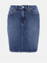 Selected Femme modrá dámská džínová sukně Kenna