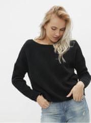 ONLY černý oboustranný basic svetr Fbrynn