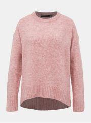 Vero Moda starorůžový basic svetr Kizzi