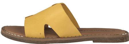 Tamaris női papucs 27135_1 36 sárga