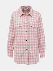 TALLY WEiJL růžová kostkovaná košile