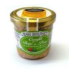 Jean Brunet Konfit z vepřových jater s paprikou a olivami, 90g