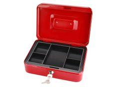 Extol Craft Schránka na peníze přenosná s pořadačem, 250x180x90mm, 2 klíče