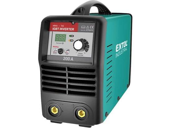 Extol Industrial Invertor svařovací 200A Smart, záruka 3 roky