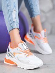 Trendy dámské tenisky vícebarevné bez podpatku