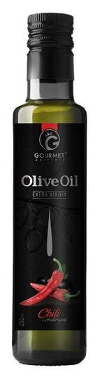 GOURMET PARTNERS Olivový olej s chilli, sklo, 250ml