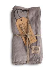 Lovely Linen ubrousek Misty Grey 42x42
