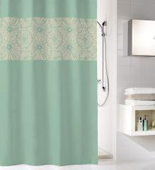 Kleine Wolke Kúpeľňový záves Lotus, 180 × 200 cm, maledivinská