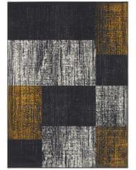 Kusový koberec Mujkoberec Original 104314 Darkgrey/Mustard