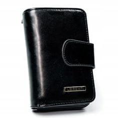 Lorenti Dámská kožená černá peněženka Anna