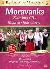 Moravanka: Morava - krásná zem - Zlaté hity 1 - CD