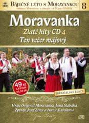 Moravanka: Ten večer májový - Zlaté hity CD 4 - CD