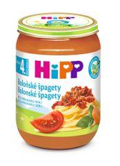 HiPP BIO Špagety v boloňské omáčce - 6 x 190g