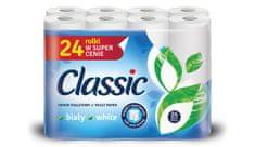 Classic White toaletni papir, 24 ks