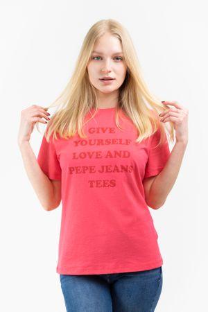Pepe Jeans női póló Freja PL504463, XS, rózsaszín