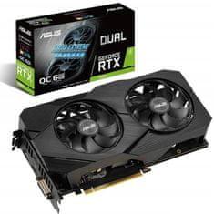 Asus Dual OC EVO GeForce RTX 2060, 6 GB GDDR6 grafična kartica