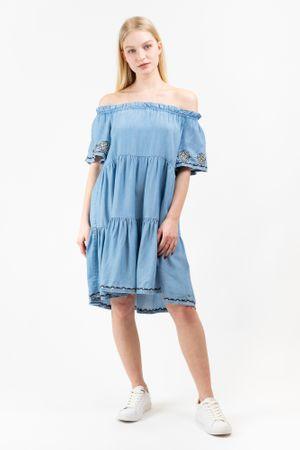 Pepe Jeans Sasha PL952679 ženska haljina, plava, XS