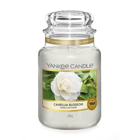 Yankee Candle Gyertya egy üvegedénybe a Yankee gyertyát, Camellia virág, 623 g