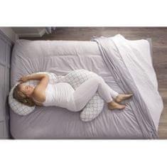 Chicco těhotenský celotělový polštář - šedý