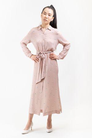 Pepe Jeans női ruha Seresa PL952680, XS, rózsaszín