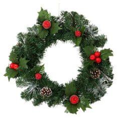 Cdiscount vánoční dekorace - věnec, 40 cm
