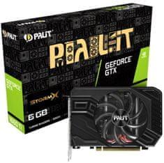 PALiT StormX GeForce GTX 1660 Ti, 6 GB GDDR6 grafična kartica