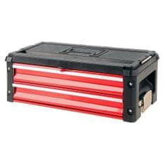 YATO Skříňka na nářadí, 2x zásuvka, komponent k YT-09101/2