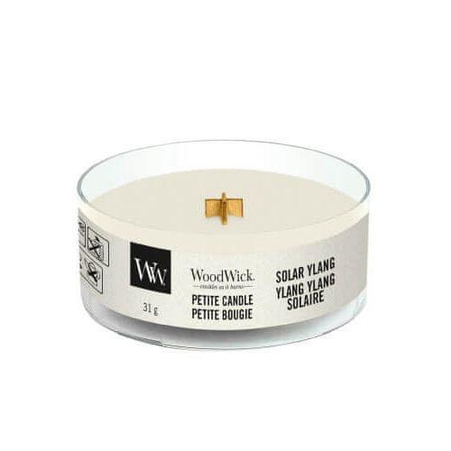 Woodwick Drobná sviečka , Slnečný ylang, 31 g