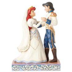 Disney Ariel i Princ Erik figurica, svadbeni sjaj