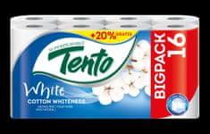 Tento Aróma Cotton Whiteness 3x 16 ks - 2 vrstvový toaletný papier