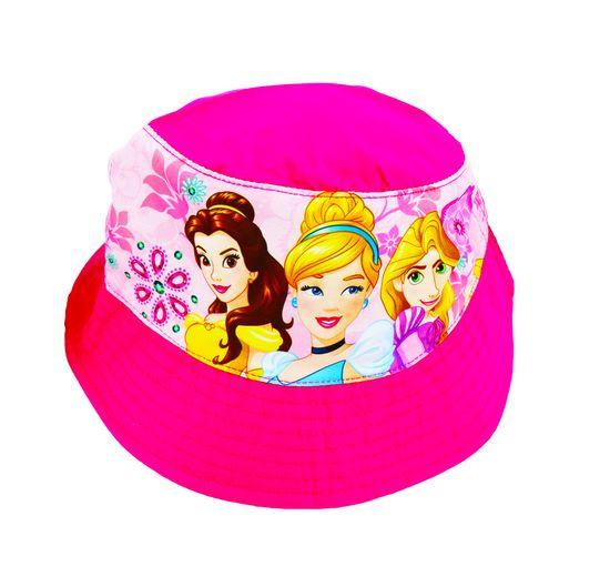 """SETINO Dívčí klobouk """"Disney Princess"""" - tmavě růžová - 54 cm"""