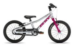 Puky Detský bicykel S PRO 16-1 Alu - strieborná/berry
