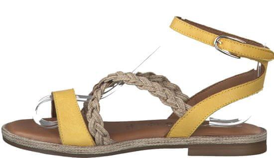 Tamaris dámske sandále 28169_1, 36, žltá