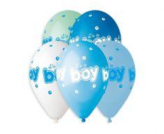 Gemar Latex léggömbök Premium It's a Boy színkeverék - héliumhoz - 5db
