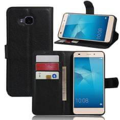 MicroData Kožené pouzdro CLASSIC pro Huawei Honor 5C - Černé