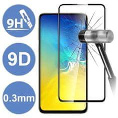Unipha Tvrzené sklo 9D pro Samsung Galaxy A20e A202 - černé
