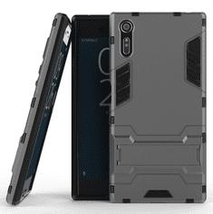 Wierss Odolný obal SHIELD ARMOR pro Sony Xperia XZ - šedý