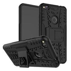 CUGUU Odolný obal HEAVY DUTY pro Motorola Moto C Plus - černý