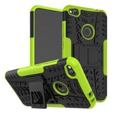 CUGUU Odolný obal HEAVY DUTY pro Motorola Moto C Plus - zelený