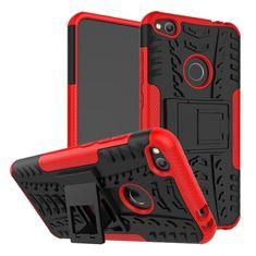 CUGUU Odolný obal HEAVY DUTY pro Motorola Moto C Plus - červený