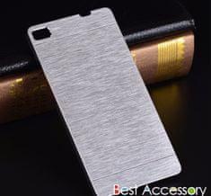 MOTOMO Hliníkový kryt MOTOMO pro Huawei P9 Lite - Stříbrný