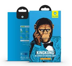 BLUEO Ultimátní 3D zaoblené ochranné tvrzené sklo Gorilla Type (0,2 mm) iPhone 11 Pro Max / XS Max - černé