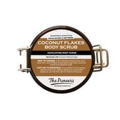 The Pionears COCONUT FLAKES BODY SCRUB - Tělový pelling kokos 200g