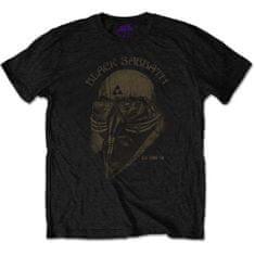 Tričko Black Sabbath - US Tour 1978 S unisex černé