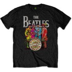Tričko Sgt. Pepper unisex černé