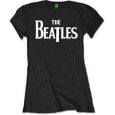 Tričko Beatles dámské černé