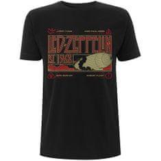 Tričko Zeppelin & Smoke unisex černé
